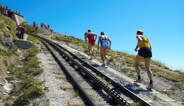 Steigungen bis zu 26% und 1.240 m Höhenunterschied. (© Wolfgangsee Tourismus Gesellschaft)