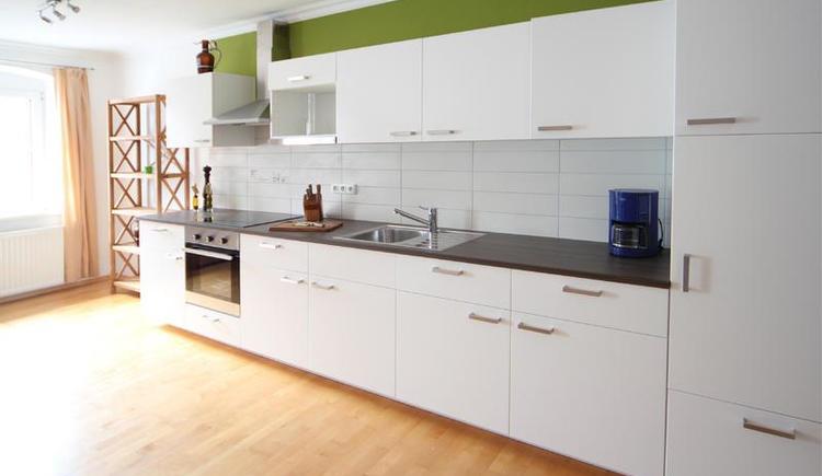 Küchenzeile in großer Wohnung
