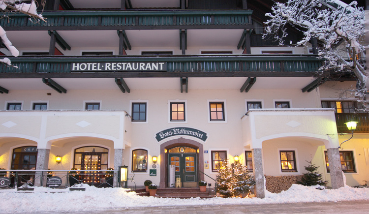 Winterstimmung. (© Hotel Mohrenwirt)