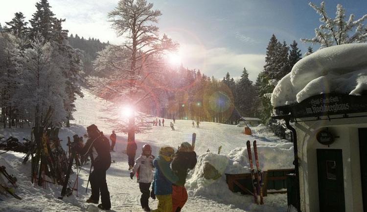 Hochberghaus im Winter