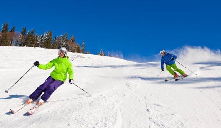 Skifahren im Skigebiet Gaissau Hintersee (© Fuschlseeregion - Erber)