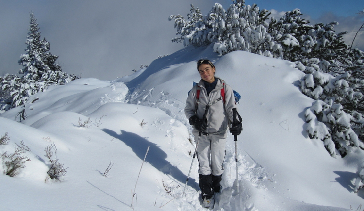Schneeschuhguide Christina Keltenich (© Christina Keltenich)