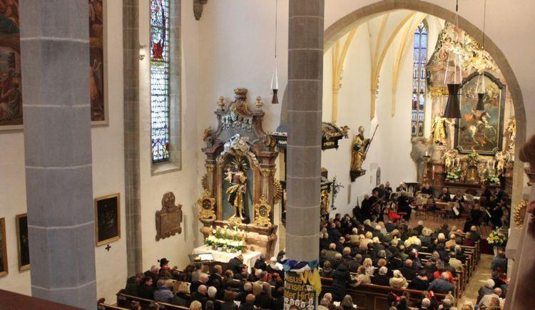 Nikolaus Harnoncour Tage in St. Georgen im Attergau, Konzert in der Pfarrkirche. (© TVBAttersee_AttergauSimonePuchner)