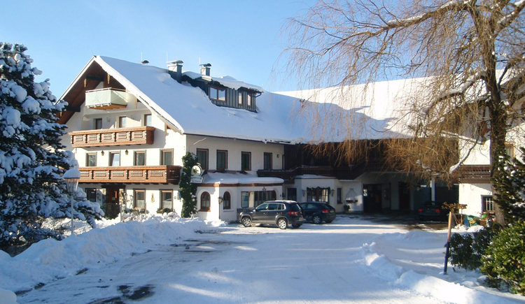 Pension Irlingerhof im Winter