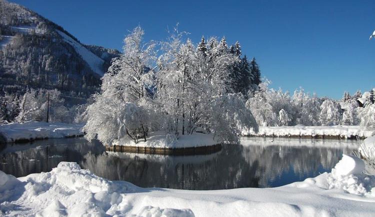 Winterlandschaft (© Karner's Fischteich)