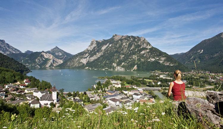 Ebensee am Traunsee im Salzkammergut. (© MTV Ferienregion Traunsee - Tourismusbüro Ebensee)