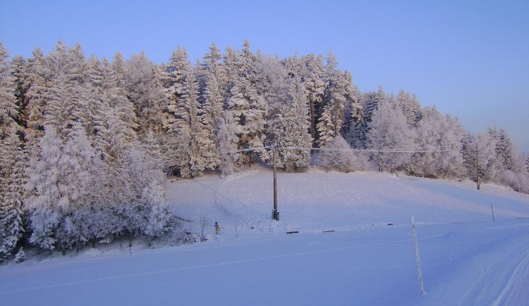 Winterlandschaft (© Tourismusverband Königswiesen)