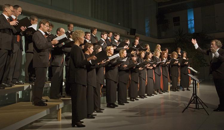Kammerchor Perg die lautmaler unter Leitung von Josef Waidhofer