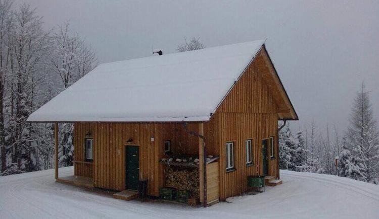 Die Rodelhütte in Bad Goisern lädt zum gemütlichen Einkehren ein.