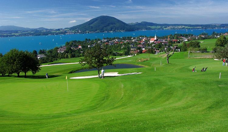 Attersee Golfclub Weyregg Golfplatz (© Hubert Bichler)