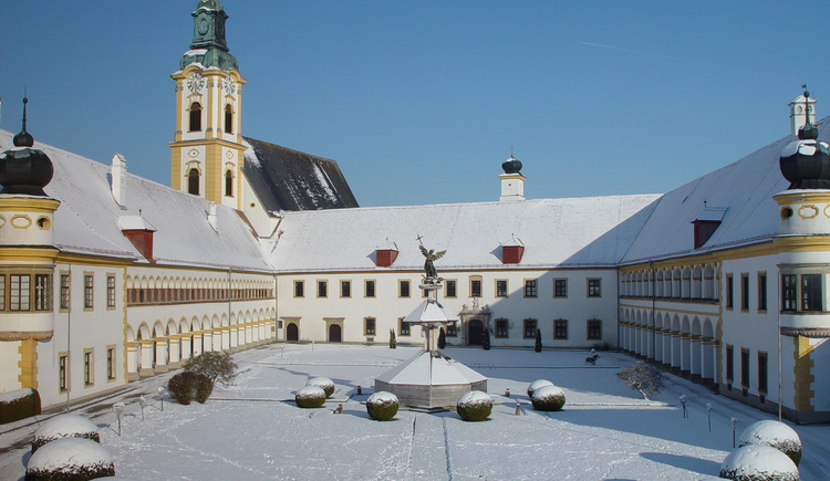 Reichersberg, Winter. (© Innviertel Tourismus)