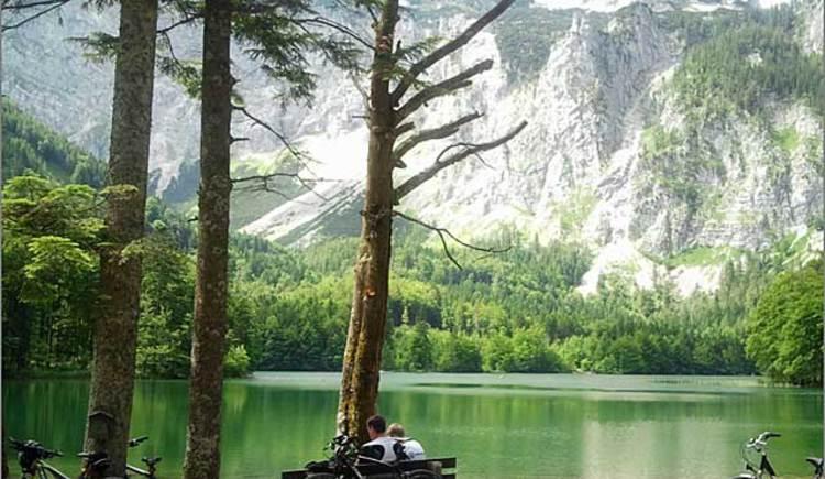 Mountainbikestrecke Lueg - Hinterer Langbathsee