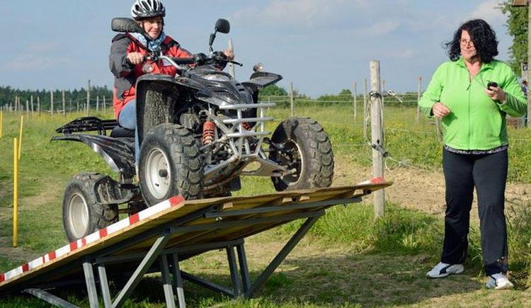 Lust am Leben Outdoor Adventure Quad Fahren