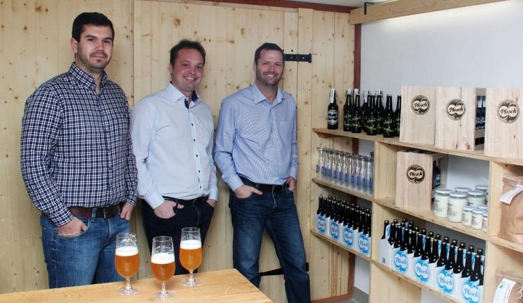 Brauerei Pfesch OG, Treubach. (© Brauerei Pfesch OG, Treubach)