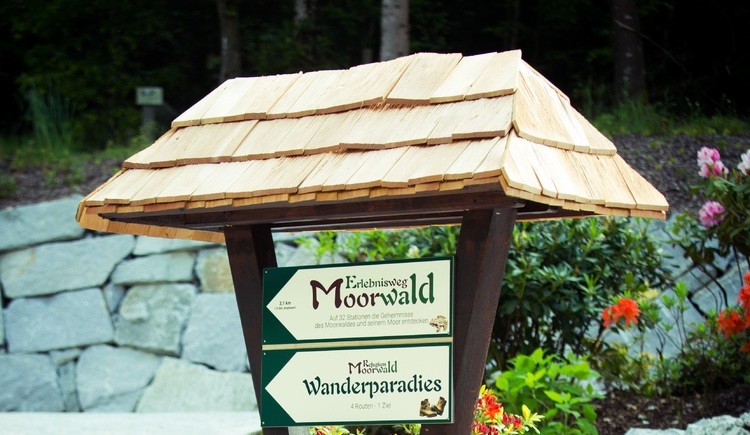 Erlebnisweg Moorwald Wanderparadies (© Vortuna Gesundheitsresort Bad Leonfelden)