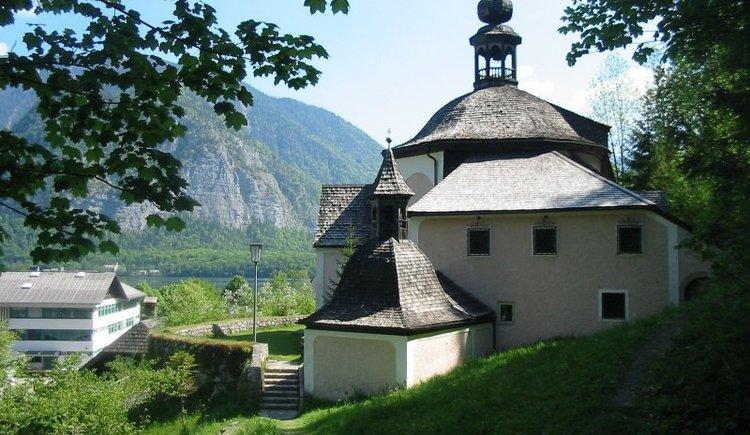 Die Kalvarienbergkirche befindet sich im Hallstätter Ortsteil Lahn.