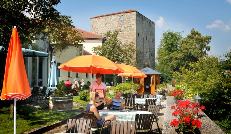 Hotel zum goldenen Hirschen - Gastgarten