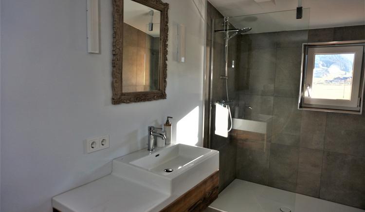 Wohnung Gipfelstürmer - Bad (© dasGams)