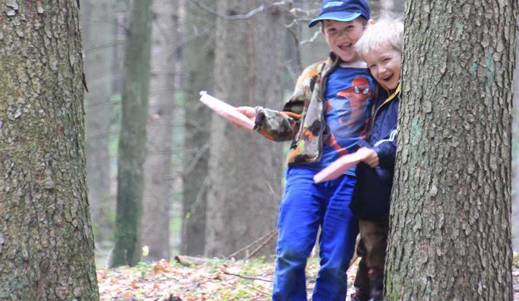 spielen im Wald (© Bammer im Herndlberg)
