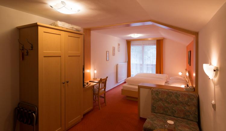 Gasthof Hirlatz, Doppelzimmer. (© Gasthof Hirlatz)
