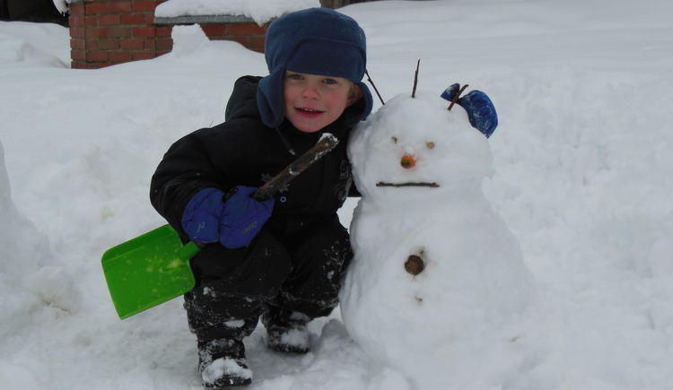 Schneemann, Winter, kinder