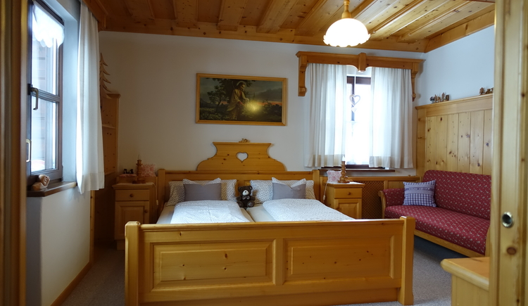 double bed room on the first floor