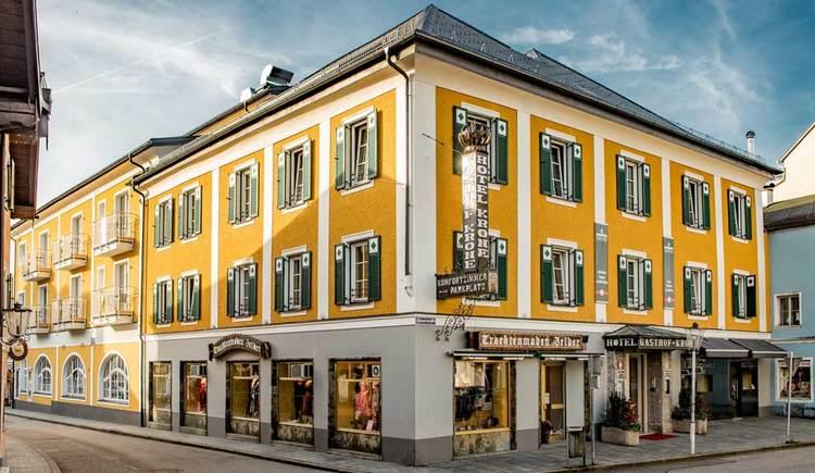 Blick auf das Hotel Restaurant Krone,. (© Hotel Restaurant Krone)
