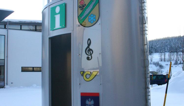 Infopoint (© Gemeinde Sandl)
