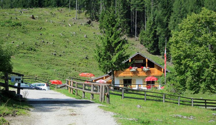Hier geht's zur Schwarzeneckhütte (© WTG)