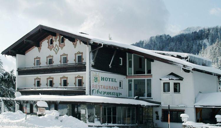 Hotel Obermayr Ansicht Winter