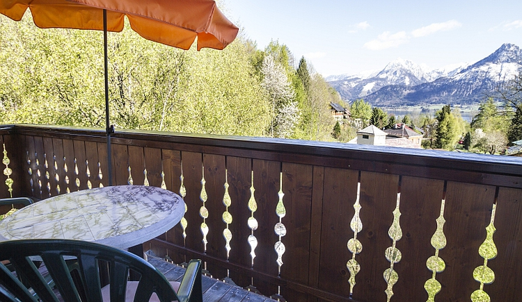 Haus Bergland Balkon. (© Peter Jandl)