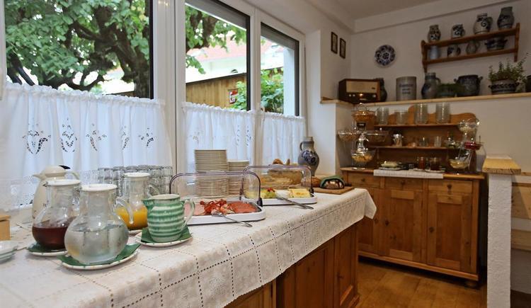 Frühstücksbuffet (© Hotel Wildschütz)