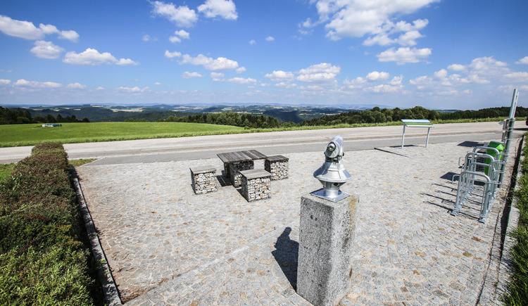 Panoramablick Paschinger Hügel | Sauwaldpanoramastraße (© WGD Donau Oberösterreich Tourismus GmbH/Weissenbrunner)