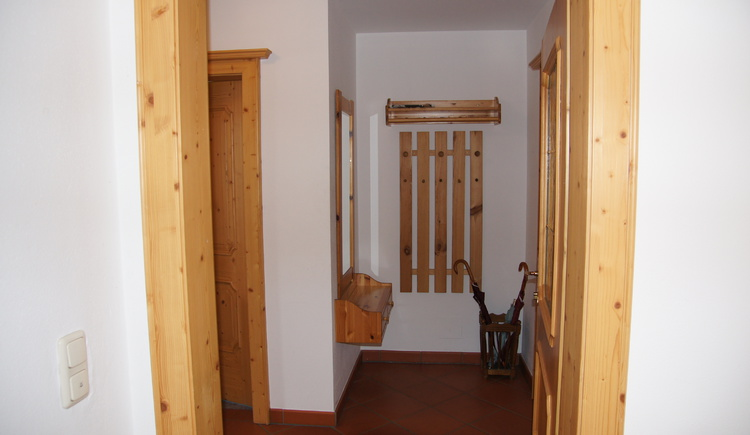The apartment is located on the 1st floor with separate entrance.