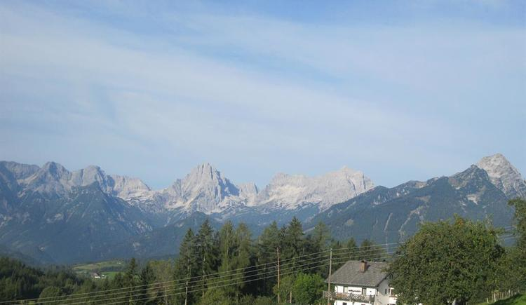 Ferienwohnungen Ramsebner-Fastner im Sommer