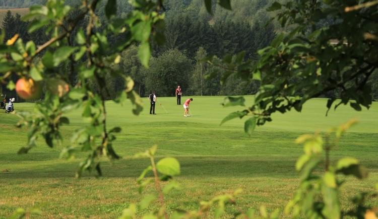 Der schön eingebettete 24-Loch-Golfplatz (© Anetseder)