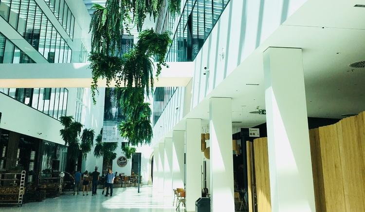 Die Promenaden Galerien in der Innenstadt