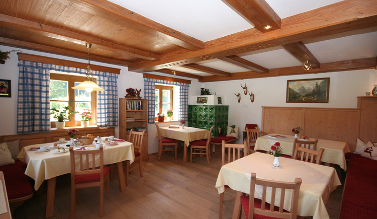 Schloßmayrhof, Frühstücksraum