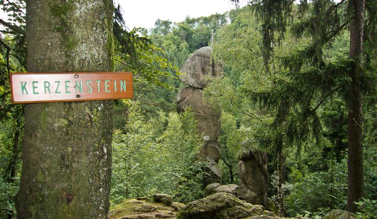 Kerzenstein im Pesenbachtal bei Feldkirchen an der Donau