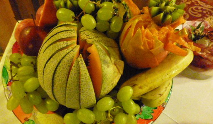 Obst zum Frühstücksbüffet. (© Brigitte)