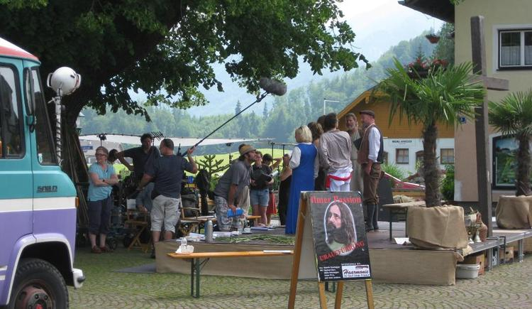 Dreharbeiten in Faistenau (© Tourismusverband Faistenau)