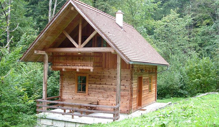 Romantisches Blockhaus am Fuße des Almkogels