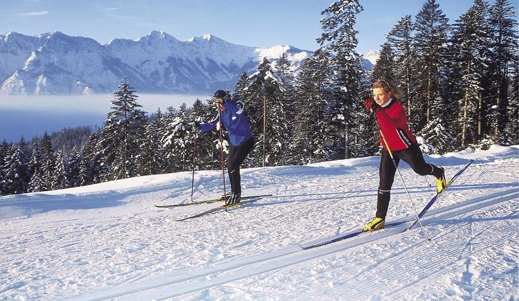 Enjoy the varied trails at the Predigstuhl and the fantastic winter panorama
