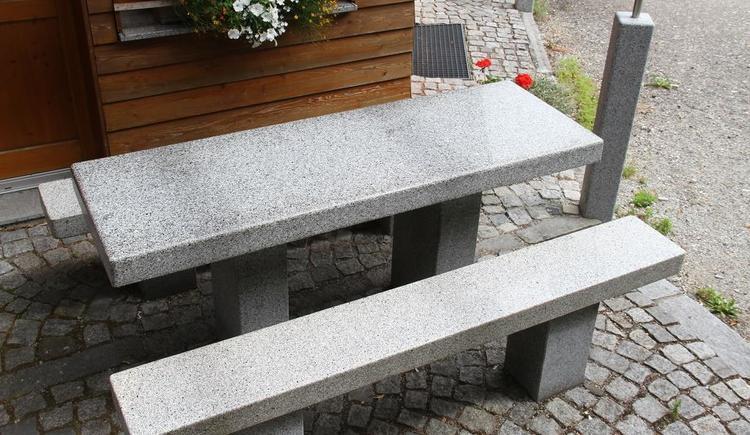 Sitzgelegenehit (© Heiße Hütte | Herbert Lindorfer)