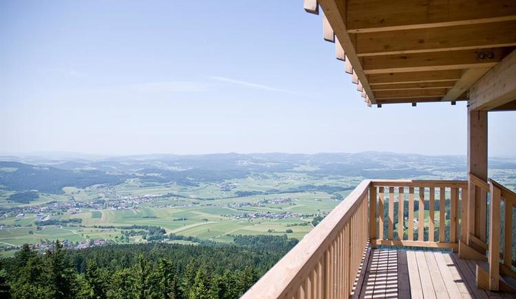 Alpenblick in Schöneben-Aussichtsturm (© TVB Böhmerwald)