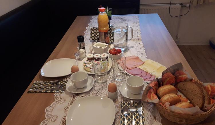 Frühstückstisch (© Privat)