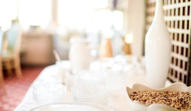 Frühstück im Hotel Garni Sonnleitn