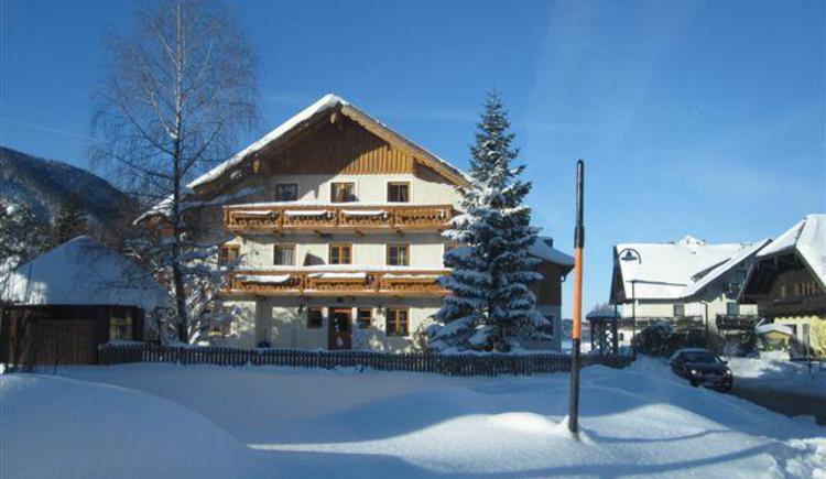 Außenansicht Winter (© Pension Tannhof)