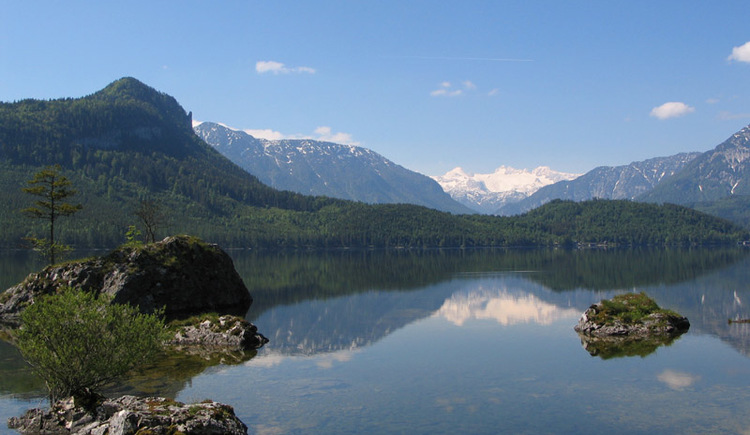 Altausseer See - Seewiese am hinteren Ende des Sees (© TVB Ausseerland - Salzkammergut/Rastl)
