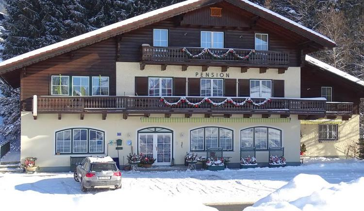 Pension Bayerhammer im Winter